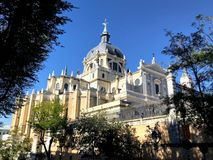 Catedral de Almudena immagine stock