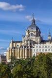 Catedral de Almudena, Madrid Foto de archivo libre de regalías