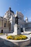 Catedral de Almudena, Madrid Fotografía de archivo