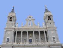 Catedral de Almudena, Madrid, España Imagen de archivo