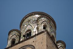 A catedral de Amalfi Imagem de Stock Royalty Free