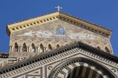 Catedral de Amalfi Imágenes de archivo libres de regalías