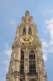 Catedral de Amberes Imagen de archivo libre de regalías