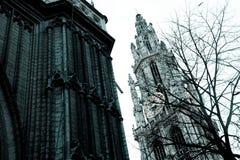 Catedral de Amberes Imagen de archivo