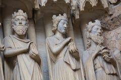 Catedral de Amiens fotografia de stock