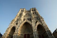 Catedral de Amiens fotografía de archivo libre de regalías