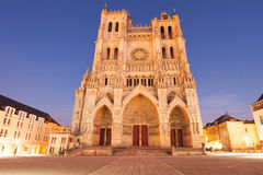 Catedral de Amiens Foto de Stock Royalty Free