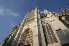 Catedral de Amiens Imagem de Stock