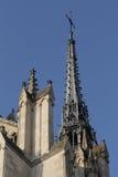 Catedral de Amiens imagen de archivo