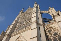 Catedral de Amiens foto de archivo