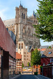 Catedral de Amiens Arquitetura gótico francesa imagem de stock royalty free