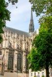Catedral de Amiens Arquitetura gótico francesa fotos de stock royalty free