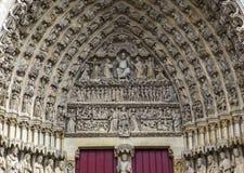 Catedral de Amiens, picardie, Francia Fotos de archivo libres de regalías
