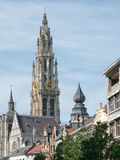 Catedral de Antuérpia, Bélgica Fotografia de Stock Royalty Free
