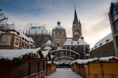 Catedral de Aquisgrán Fotografía de archivo