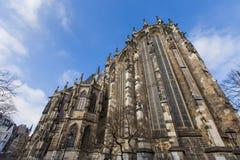 Catedral de Aquisgrán fotos de archivo libres de regalías