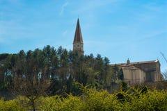 Catedral de Arezzo Imágenes de archivo libres de regalías