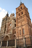 Catedral de Astorga Imagen de archivo libre de regalías