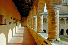Catedral de Atri imágenes de archivo libres de regalías