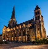Catedral de Autun Imagem de Stock Royalty Free