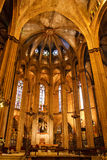 Catedral de Barcelona Foto de archivo