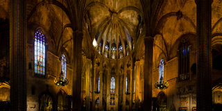 Catedral de Barcelona Imagenes de archivo
