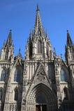 Catedral de Barcelona Foto de archivo libre de regalías
