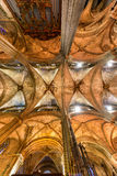 Catedral de Barcelona Imagens de Stock