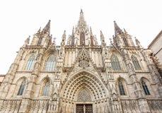 Catedral de Barcelona, Barcelona, Espanha Fotografia de Stock Royalty Free