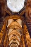 Catedral de Barcelona. El Interior de la catedral de Barcelona Catalunya Royalty Free Stock Images