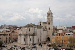 Catedral de Barletta Imagen de archivo libre de regalías