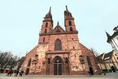 Catedral de Basilea Imagenes de archivo