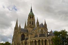 Catedral de Bayeux Imagem de Stock