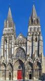 Catedral de Bayeux, Francia fotografía de archivo