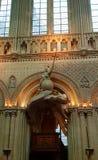 Catedral de Bayeux, también conocida como catedral de nuestra señora de Bayeux fotos de archivo libres de regalías
