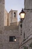 Catedral de Belltowers Giovinazzo. Apulia. Fotografia de Stock Royalty Free