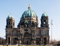 Catedral de Berlín. imagen de archivo