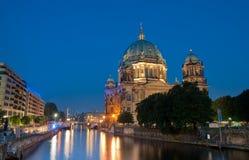 Catedral de Berlín en la isla del museo Imagen de archivo libre de regalías