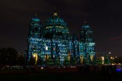 Catedral de Berlim (os DOM do berlinês) Fotos de Stock Royalty Free