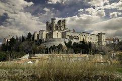 Catedral de Beziers, Francia Foto de archivo