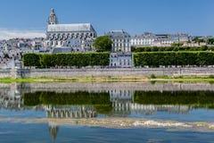 Catedral de Blois Imagenes de archivo