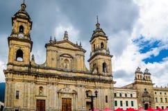 Catedral de Bogotá en Colombia Imagen de archivo