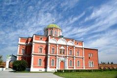 Catedral de Bogoyavlenskiy en Rusia Imagenes de archivo