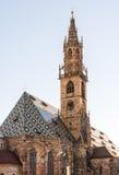 Catedral de Bolzano Fotos de Stock