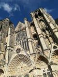 Catedral de Bourges, Francia fotografía de archivo