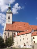 Catedral de Bratislava (Eslováquia) Fotografia de Stock