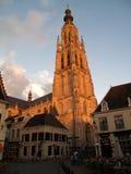 Catedral de Breda Fotografía de archivo libre de regalías