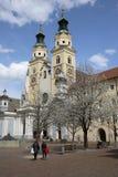 Catedral de Brixen/Bressanone Imagen de archivo libre de regalías