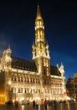 Catedral de Bruxelas Fotografia de Stock Royalty Free