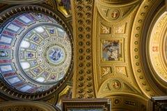 Catedral de Budapest St Stephen Fotos de archivo libres de regalías